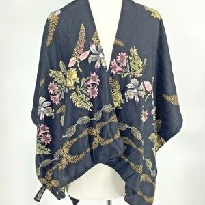 Ted Baker Floral Print Wrap Shawl Scarf New Soft